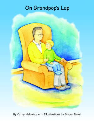 Award-Winning Children's book — On Grandpop's Lap and Activity Book - Companion Workbook for On Grandpop's Lap