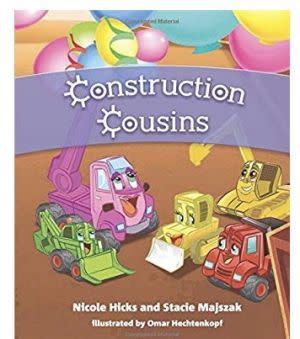 Award-Winning Children's book — Construction Cousins