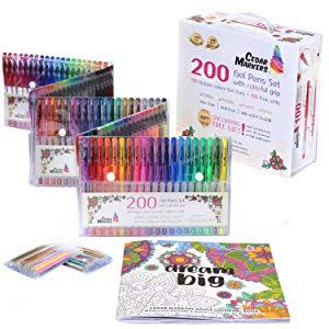 Award-Winning Children's book — Cedar Markers Gel Pens with Original Adult Coloring Book