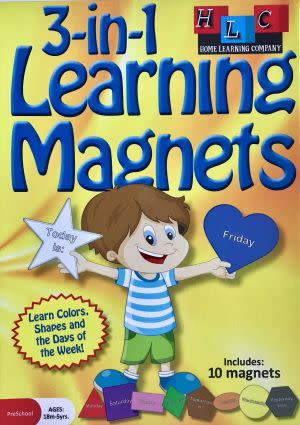 Award-Winning Children's book — 3-in-1 Learning Magnets