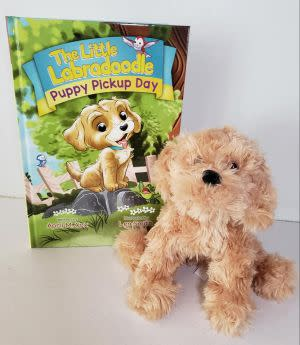 Award-Winning Children's book — Puppy Pickup Day Book & Plush Toy