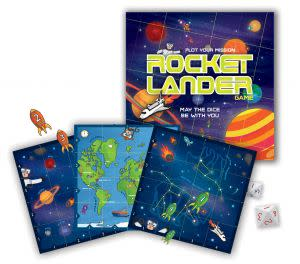 Award-Winning Children's book — Rocket Lander