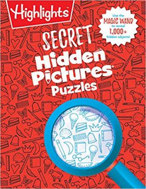 Award-Winning Children's book — Secret Hidden Pictures Puzzles