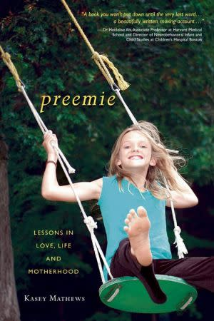 Award-Winning Children's book — Preemie: Lessons in Love, Life and Motherhood