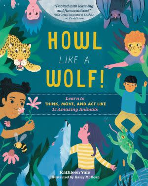 Award-Winning Children's book — Howl Like a Wolf!