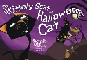 Award-Winning Children's book — Skittely Scat Halloween Cat