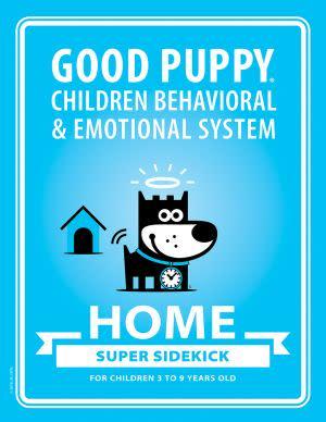 Award-Winning Children's book — GOOD PUPPY Children Behavioral & Emotional System: HOME Super Sidekick