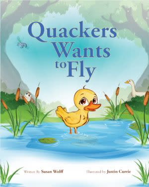 Award-Winning Children's book — Quackers Wants to Fly