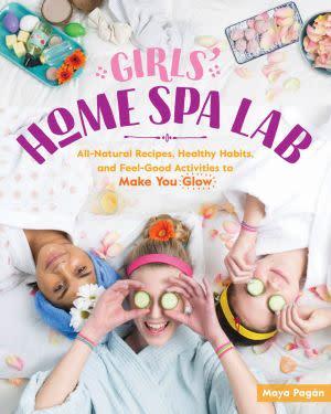 Award-Winning Children's book — Girls' Home Spa Lab