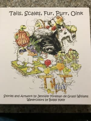 Award-Winning Children's book — Tails, Scales, Fur, Purr, Oink