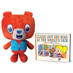 Award-Winning Children's book — Claire Lost Her Bear at the World's Fair (with Benny Bear plush)