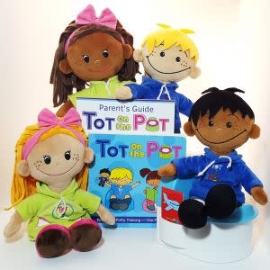 Award-Winning Children's book — Tot on the Pot (Potty Training)