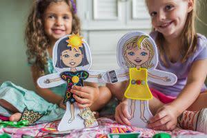 Award-Winning Children's book — SnapDolls