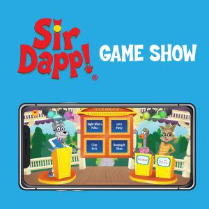 Award-Winning Children's book — Sir Dapp! Game Show