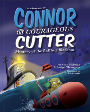 Award-Winning Children's book — The Adventures of Connor the Courageous Cutter
