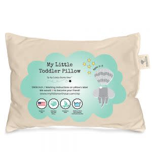 Award-Winning Children's book — Organic Cotton Toddler Pillow