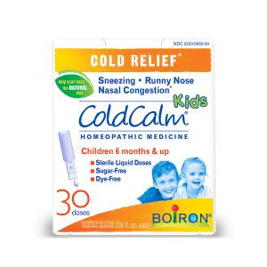 Award-Winning Children's book — ColdCalm Kids Homeopathic Medicine