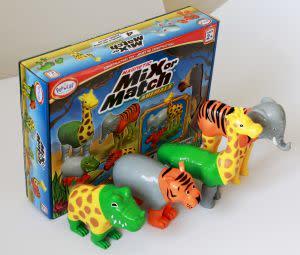 Award-Winning Children's book — Magnetic Mix or Match Farm / Jungle Animals
