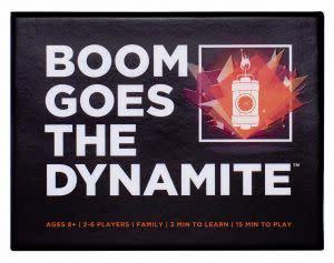 Award-Winning Children's book — BOOM GOES THE DYNAMITE card game