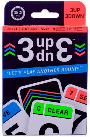 Award-Winning Children's book — 3UP 3DOWN card game
