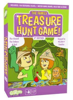 Award-Winning Children's book — The Family Treasure Hunt Game