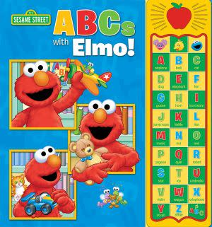 Award-Winning Children's book — Sesame Street Apple Sound Book