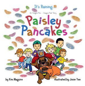 Award-Winning Children's book — It's Raining ... Paisley Pancakes