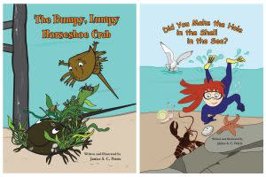Award-Winning Children's book — The Bumpy, Lumpy Horseshoe Crab; Did You Make the Hole in the Shell in the Sea?