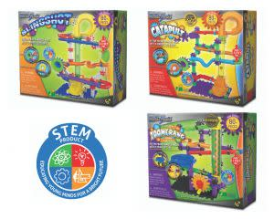 Award-Winning Children's book — Techno Gears Marble Mania - Slingshot, Catapult & Zoomerang