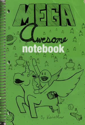 Award-Winning Children's book — Mega Awesome Notebook