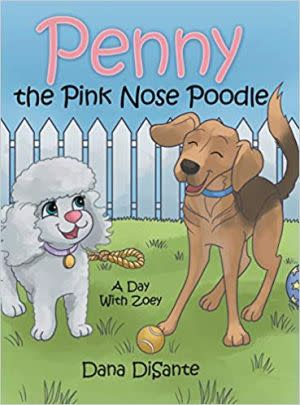 Award-Winning Children's book — Penny the Pink Nose Poodle
