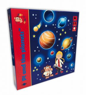 Award-Winning Children's book — Pi and the planets™