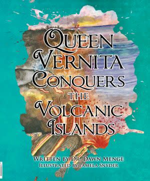 Award-Winning Children's book — Queen Vernita Conquers the Volcanic Islands