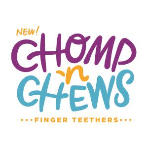 Award-Winning Children's book — Chomp 'N Chews Finger Teether