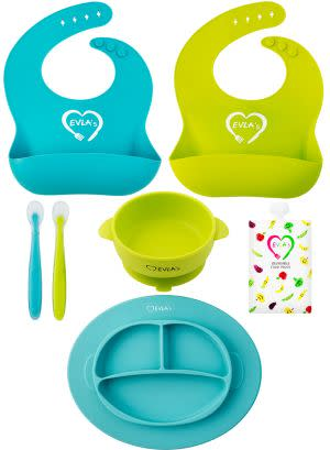Award-Winning Children's book — Complete Baby Feeding Set