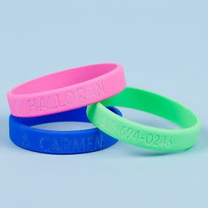 Award-Winning Children's book — Silicone ID Bracelets