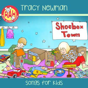 Award-Winning Children's book — Shoebox Town CD
