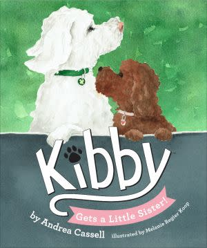Award-Winning Children's book — Kibby Gets a Little Sister!