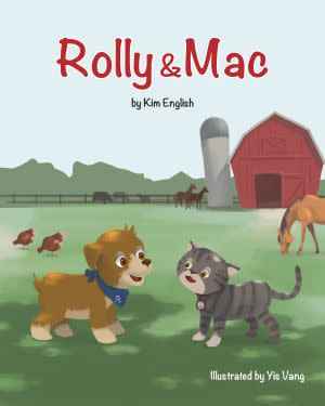 Award-Winning Children's book — Rolly and Mac