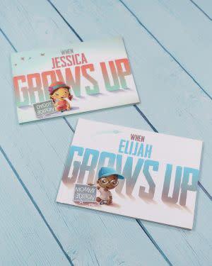 Award-Winning Children's book — When Tonya Grows Up