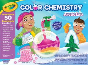 Award-Winning Children's book — Crayola Color Chemistry Arctic Lab