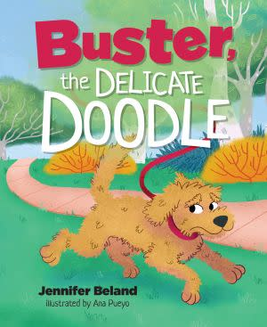 Award-Winning Children's book — Buster, the Delicate Doodle