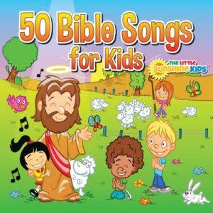 Award-Winning Children's book — 50 Bible Songs for Kids