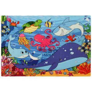 Award-Winning Children's book — Under the Sea Foam Floor Puzzle