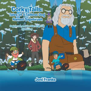 Award-Winning Children's book — Corky Tails Tales of a Tailless Dog Named Sagebrush