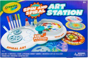 Award-Winning Children's book — Crayola Spin and Spiral Art Station
