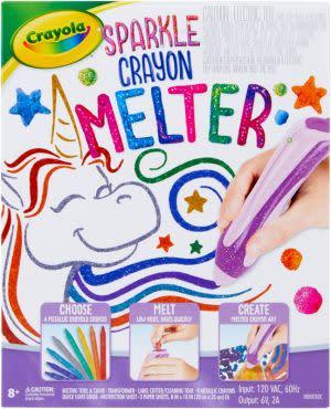 Award-Winning Children's book — Crayola Sparkle Crayon Melter
