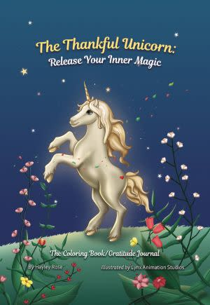 Award-Winning Children's book — The Thankful Unicorn