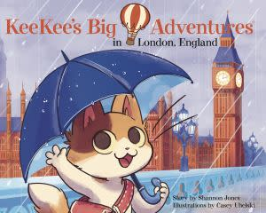 Award-Winning Children's book — KeeKee's Big Adventures in London, England