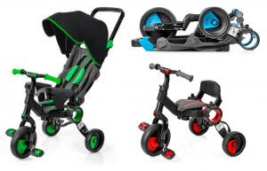 Award-Winning Children's book — Galileo Premium Stroller/Tricycle